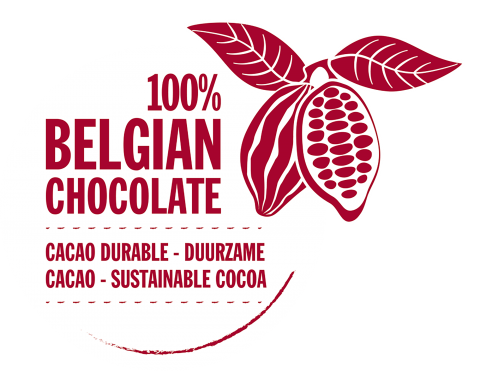 100% Belgian Chocolate